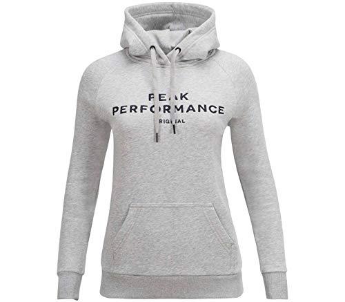 Peak Performance Damen Hoodie grau XL