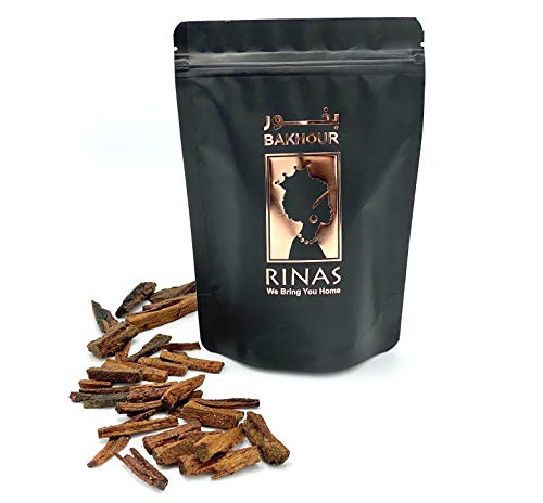 Rinas 130g Sudanese Bakhoor (Incense), Ancient Nubian Recipe containing Musk and Sandalwood