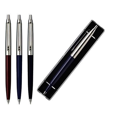 1 Bolígrafo Inoxcrom B-55 Classic con estuche y blister (colores surtidos al azar)