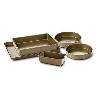 Simply Calphalon Nonstick Bakeware, Set, 5-Piece