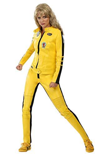 Beatrix Kiddo Costume Kill Bill Costumes for Women Yellow Motorcycle Jacket Costume Medium