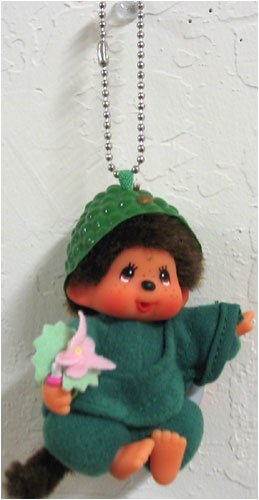 Monchhichi World Costume Buddha Japan Keychain Plush Doll