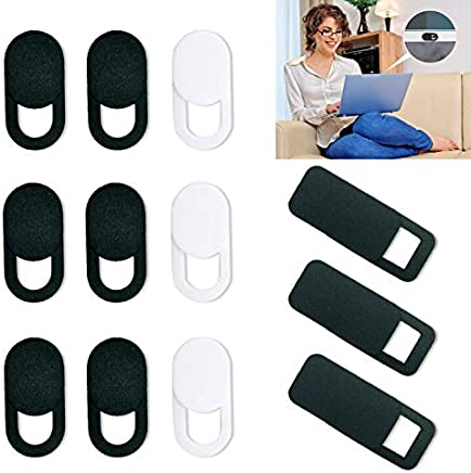 CKANDAY - Confezione da 12 coperture per webcam, ultra sottili, con adesivo resistente, per proteggere la tua sicurezza e la tua privacy, compatibile con computer portatili - Trova i prezzi più bassi