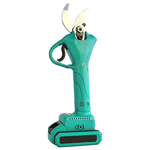 Scissors Tijeras de podar de jardinería Recargables Tijeras de podar Recargables con batería de Litio Tijeras de podar eléctricas Tijeras de Metal para jardín Tijeras de jardinería de Mano