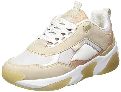 Buffalo Damen Lean B Sneaker, BEIGE/Coral, 38 EU