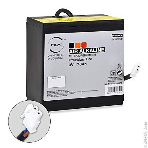 NX - Batterie Luftsauerstoff Alkaline 3V 180Ah