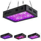 ZJING 600W / 1000W / 1200W / 1500W LED Grow Light, lámpara de Cultivo de luz de Plantas de Interior de Espectro Completo con Interruptor Doble, para Invernadero hidropónico Interior,1500w