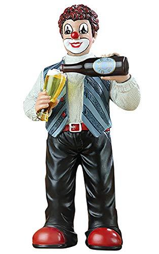 Gildeclown Wohl bekomm's - Deko Figur und Geschenk für Männer - H 15 cm