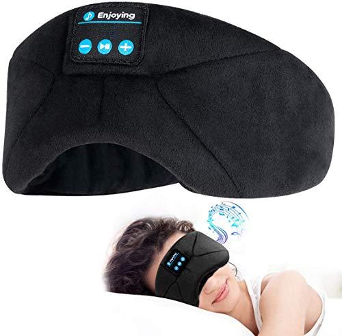 QAZXCV Schlafkopfhörer Bluetooth-Augenmaske für Schlafmaske, Blindfold-Maske für Nape/Yoga/Office/Reise Unisex, personalisierte beliebte Geburtstagsgeschenke