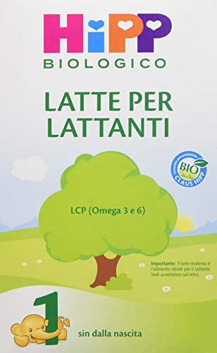 HiPP Latte 1 per Lattanti Polvere - Pacco da 4 x 600 gr