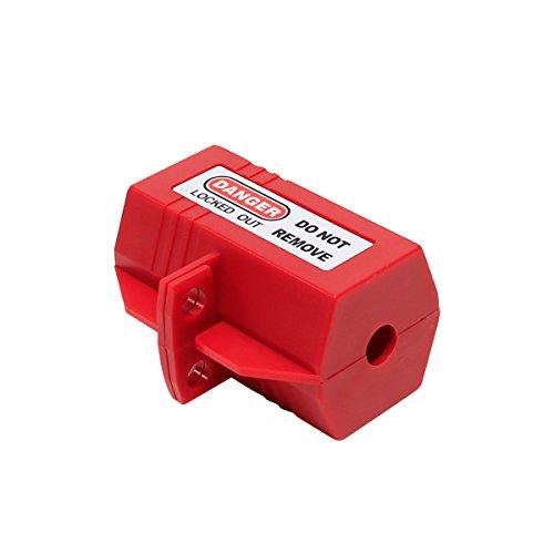Wisamic Safe-Box Polypropylen Plug Lockout 2 x 2 x 3-1/2 Zoll Elektro-Stecker Abdeckung