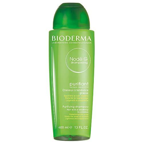NODÉ G Shampoo 400 ml | reinigt sanft – reguliert die Talgproduktion | fettiges Haar, Kopfhaut mit fettiger Tendenz