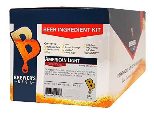 Brewers Best American Light Home Brewing Ingredient Kit