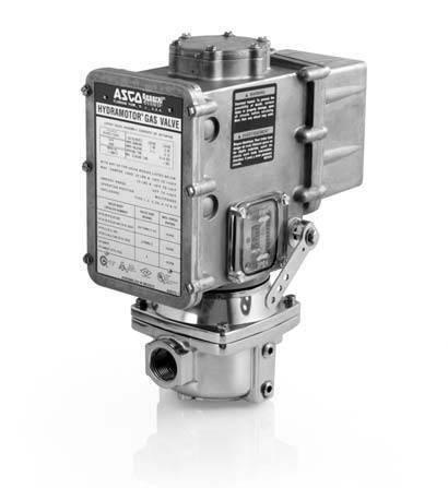 ASCO Power Technologies AH2E112S4 Actuator 120v POC damper shaft