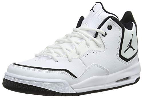 Nike Jordan Courtside 23 (GS), Scarpe da Basket Uomo, Bianco (White/Black/Black 100), 36 EU