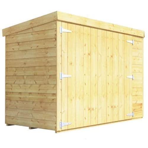 BillyOh Mini Keeper 6x3 Overlap Wooden Bike Store Garden Storage Shed