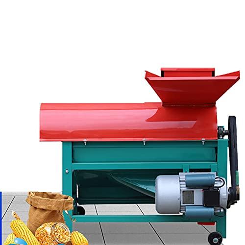 HXXXIN Trilladora De Maíz Mecánica, Granulador Eléctrico Doméstico Pequeño con Ventilador, Batidor De Maíz Multifunción Automático Grande