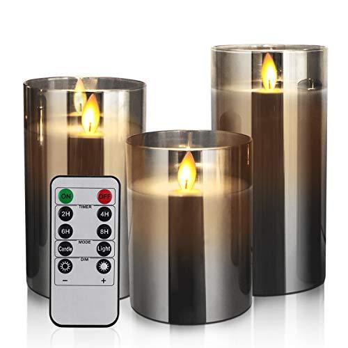 YMing Flammenlose Kerzen Bild