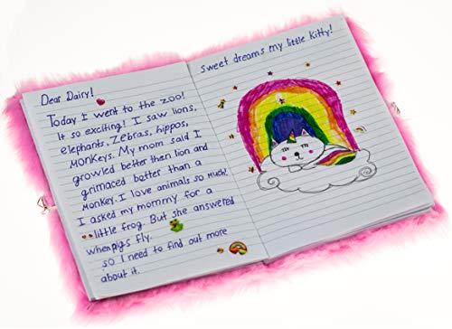 Mollybee Kids My Kitty Lock and Key Diary