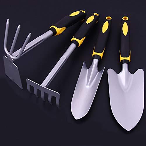 LLKK Herramientas de jardinería,Pala de jardinería,Juego de Herramientas de Jardinería para Niños,Mango cómodo,Resistente y Duradero