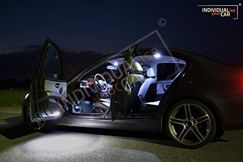 Innenraumbeleuchtung SET für 3er E90 Limousine (Mit Panoramadach, Cool-White)