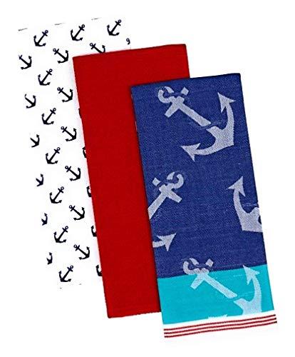 Anchors Away Dishtowels