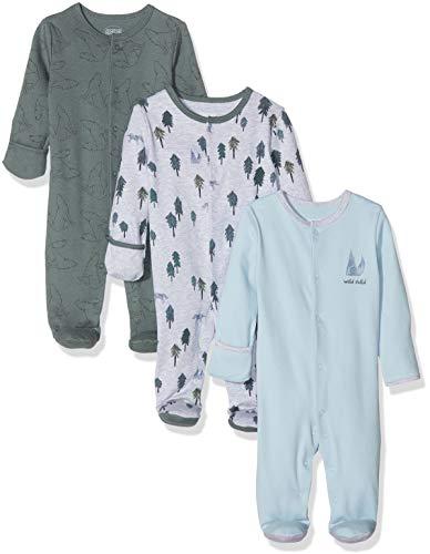 Mamas and Papas Blue Check Pyjamas Pigiama Bimbo