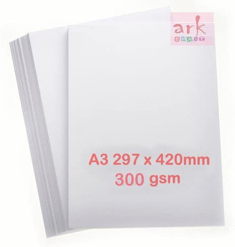 100 Super Special SALE held sheets Thick White 300gsm A3 2021 spring and summer new EDIXION Card