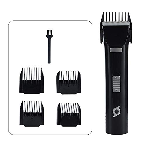 B-1 Cordless Dog Trimmer Low Noise, Pet Hair Trimmer Kit Rechargeable with 4 Comb Guides Cordless Pet Grooming Kit Low Noise Best Dog Shaver for Dogs Cats & Other Animals