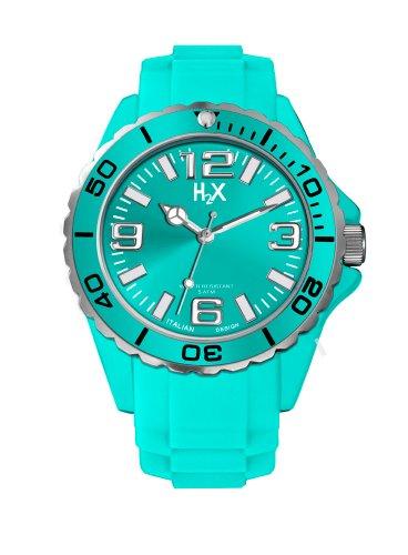 Haurex Damen Analog Quarz Uhr mit Gummi Armband ST382DT2