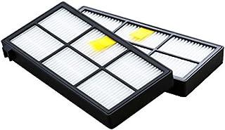 【正規品】ダストカットフィルター (2個セット) ルンバ 800 / 900 シリーズ対応 アイロボット 4419697 奥行き12 x 幅57 x 高さ110(mm) ホワイト