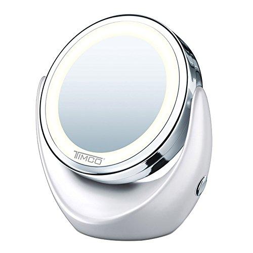 espejo aumento con luz fabricante Timco