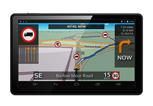 Aguri Truck TX520 DVR 5' Truck Sat Nav with Built-in Dash Cam, Wi-Fi and UK & Ireland mapping.