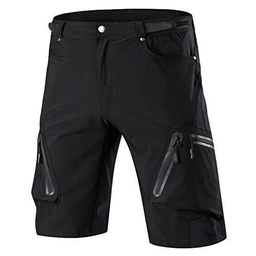 Cycorld MTB Hose Herren Radhose, Mountainbike Hose Fahrradhose Herren Kurz, Schnelltrocknende MTB Shorts Radlerhose Herren Atmungsaktiv Outdoor Bike Shorts