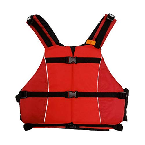 Find Discount QERNTPEY Life Jacket Life Jacket Fishing Vest Adult Kayak Surfing Floating Swimming Sn...