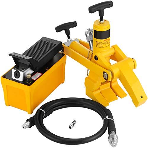 Mophorn Cambiador Hidráulico de Neumáticos con Presión Máxima 10.000 PSI Desmontador de Neumáticos Cambiador de Neumáticos de Coche, Camión (con Bomba de pie hidraulica)