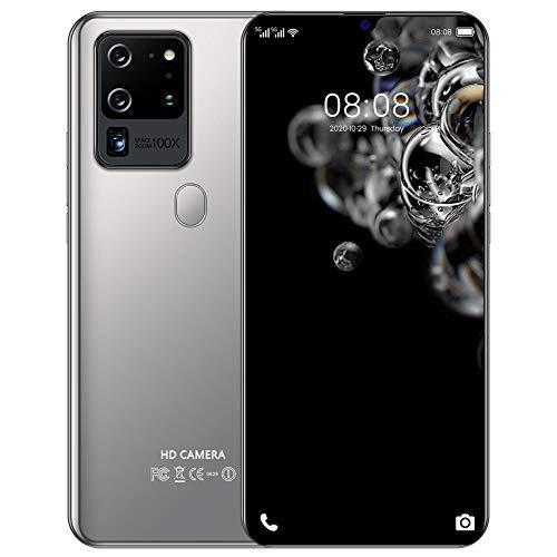 ELLENS Smartphone Desbloqueado, Cámaras Duales de 8MP + 5MP, Doble SIM HD, Pantalla de Gota de Agua de 6,3 Pulgadas, 1 GB de RAM + 8 GB de ROM, 128 GB Ampliable, Batería de 3600 mAh