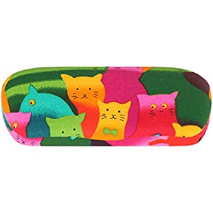 Cool Glasses Case - 1 Pack, Cats:Comoparardefumar