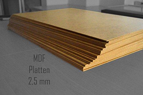 Teuto-Bilderrahmen 1 Stck. 40 x 60 cm MDF Platten 2,5 mm stark dick Holz Bastelmaterial Möbel Mitteldichte Holz Faserplatten Brett
