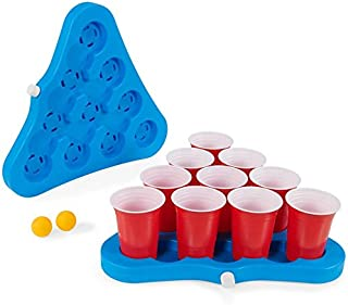 beer pong cup holder stand