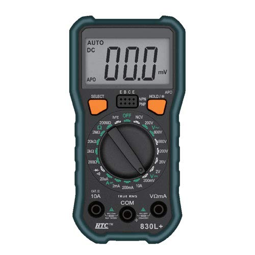 HTC Instruments HTC-830L+ Digital Multimeter by Indian Hobby Center
