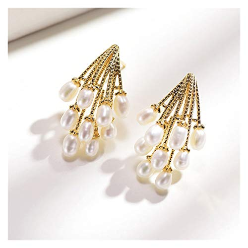LDH Imitation Pearl Earrings. Female Temperament Earrings. Atmospheric Imitation Pearl Design. Earrings for Girls, S925 Silver Needle, Gift Box