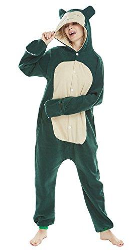 FunnyCos Pijama unisex de animal para adultos, disfraz de cosplay con capucha