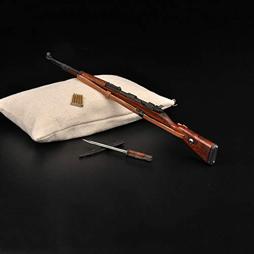 1/6 Action Figure Accesssories Pistola del Fucile della Seconda Guerra Mondiale 98K + Baionetta per Armi Modello dell'Esercito Tedesco 12 Pollici Impossibile Avviare Giocattoli Bambola Soldato