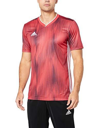 adidas Herren TIRO 19 JSY T-Shirt, Power red/White, M