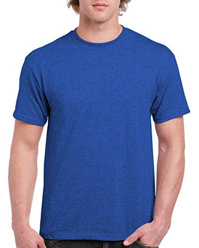 Gildan Men's G2000 Ultra Cotton Adult T-shirt, Antique Royal, Medium