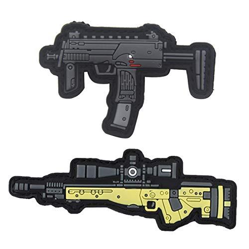 Armreif für Scharfschütze/Gewehr aus PVC, Q Version one size 2pcs(6+11)