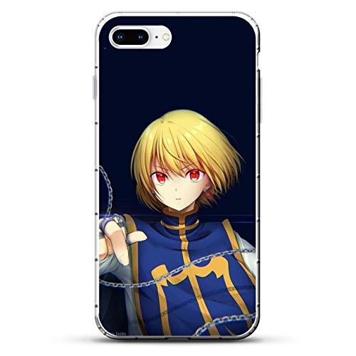 Cases for Apple iPhone 7 Plus/8 Plus, Hunter-Hunter Kurapika-Kurta 5 Transparent Thin TPU Shockproof Silikon Coque Cover Phone Cases