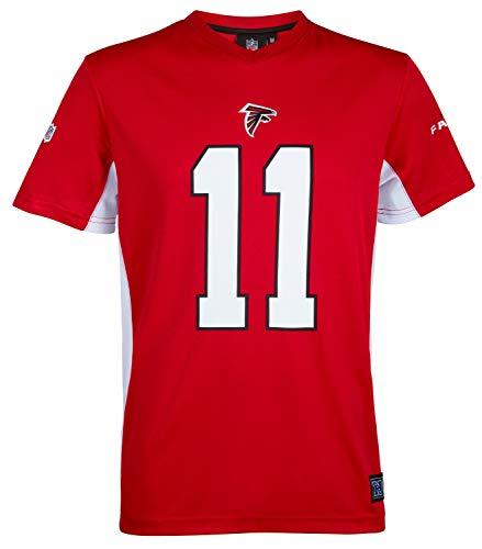 Fanatics NFL Atlanta Falcons #11 Jones T-Shirt Herren rot/weiß, XXXL