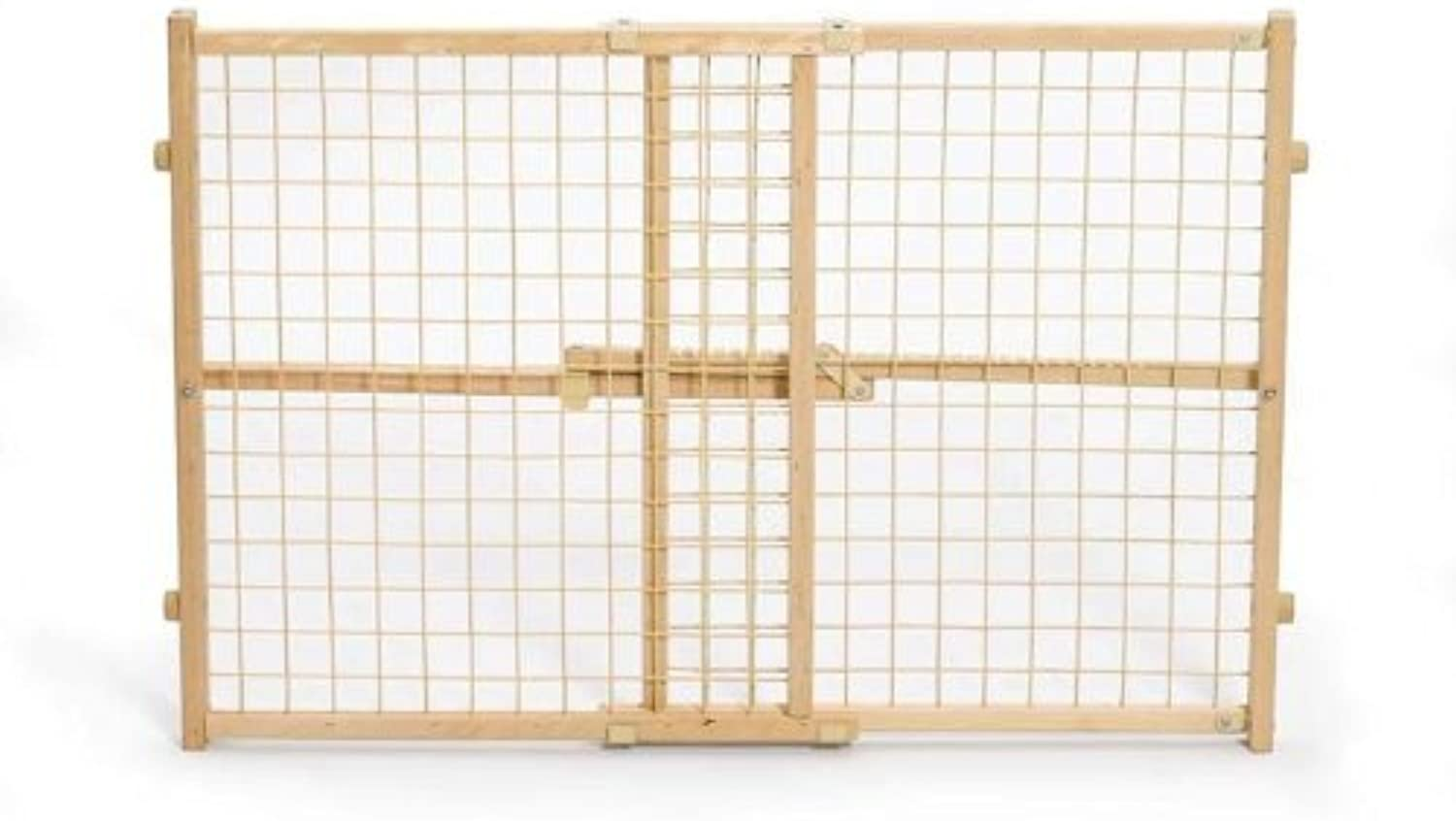 MidWest Wire Mesh Pet Gate, 26 Inches to 41 Inches wide by 24 Inches Tall by MidWest Homes for Pets